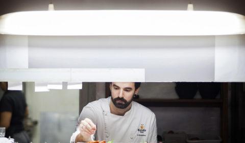 Chef, Cocinero, restaurante, 9 Granados,